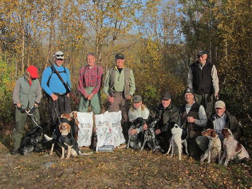 jaktprovsdeltagare Kiruna 2014